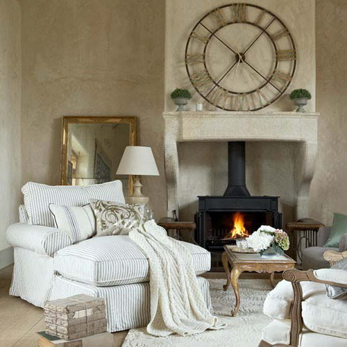 cool ideas to use vintage clocks to decorate your interior photo 26