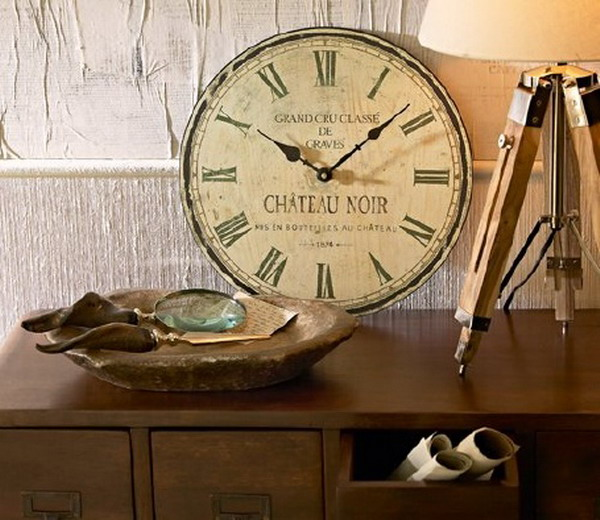 cool ideas to use vintage clocks to decorate your interior photo 15