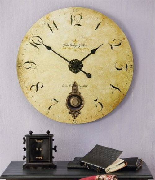 Vintage Clock to Decorate