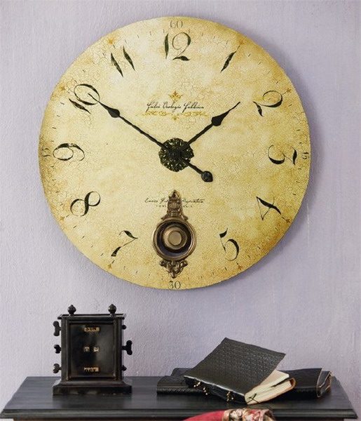 cool ideas to use vintage clocks to decorate your interior photo 31