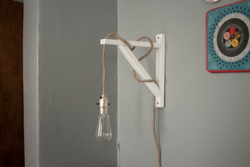 industrial and vintage wall lamp