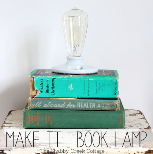 vintage-style ceramic lamp (via shelterness)
