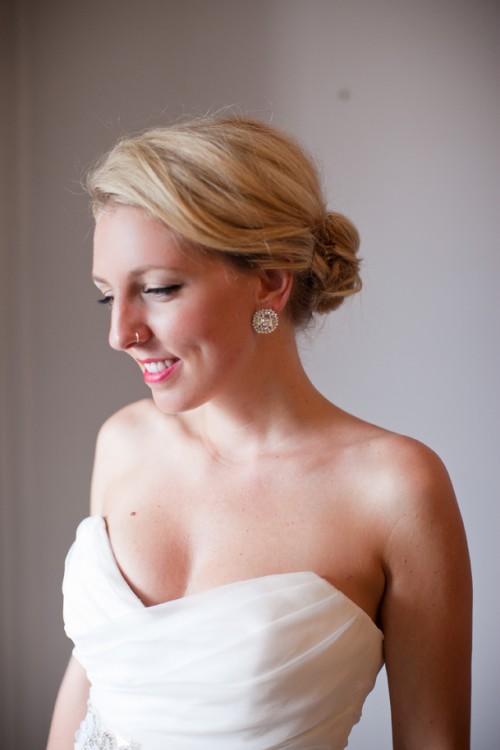 vintage stud wedding earrings