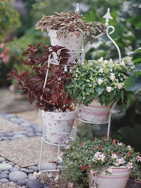 Vintage Garden Pots 11