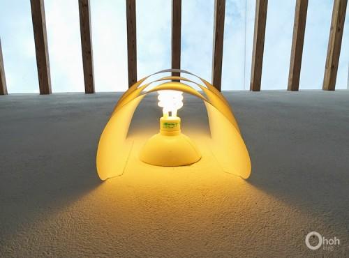 Voulminous Diy Paper Wall Lamp