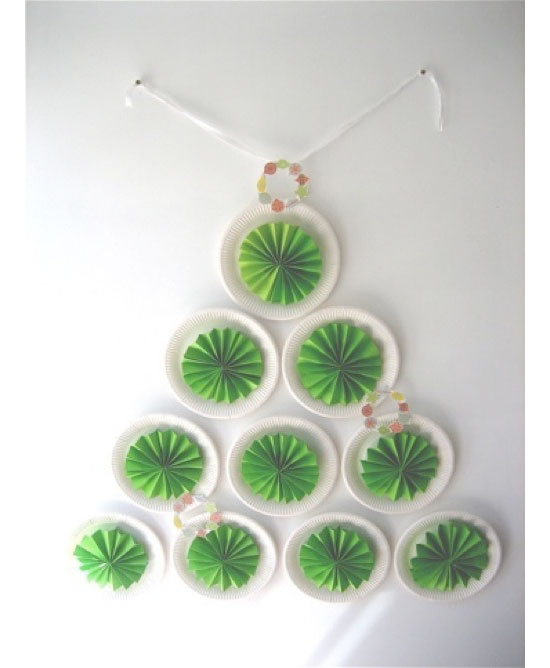 Wall Mount Christmas Tree Of Objects