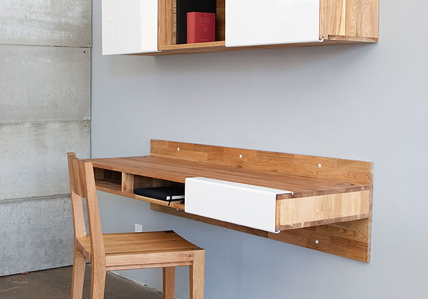 wall mounted desk by viashstudios shelterness