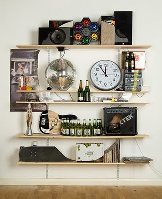 Wall Shelves As Wall Decorations
