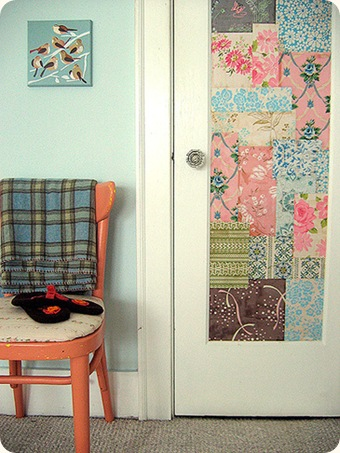 Wallpaper On A Door & 10 Cool Ideas To Decorate Your Doors With Wallpapers - Shelterness