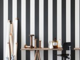 Walls With Painted Stripes