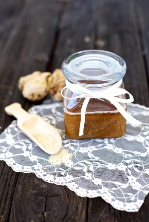 Warming DIY Coconut Ginger Body Scrub