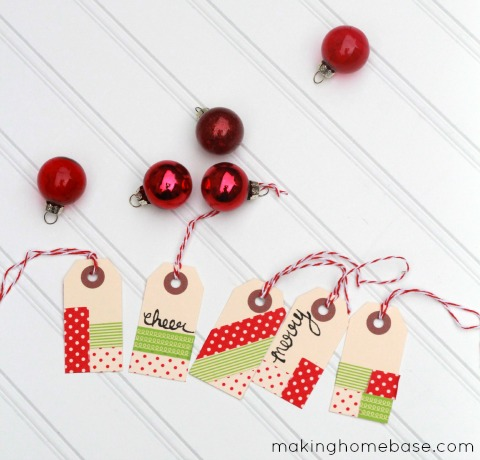 washi tape gift tags (via makinghomebase)