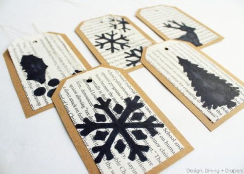 sharpie gift tags (via designdininganddiapers)