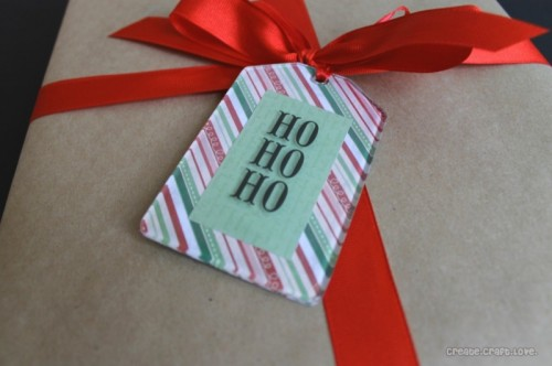 Mod Podge gift tags (via createcraftlove)