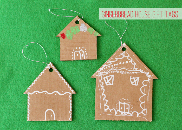 gingerbread house tags