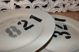 numbered Birthday plate (via redzoegirl)