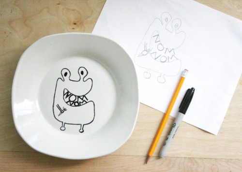 tableware for kids (via shelterness)