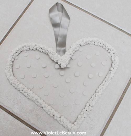 Whipped Cream Heart Earrings Hanger