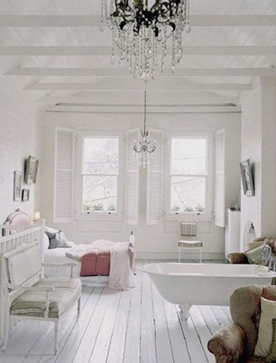 15 Amazing Rooms With White Wooden Floors u00bb Photo 10