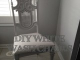 whitewashed chairs