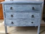 vintage whitewashed dresser