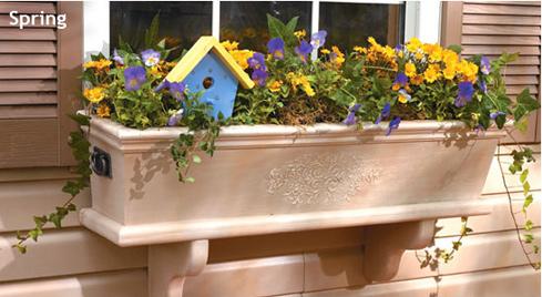 DIY Window Box Of Pine (via homeathome)