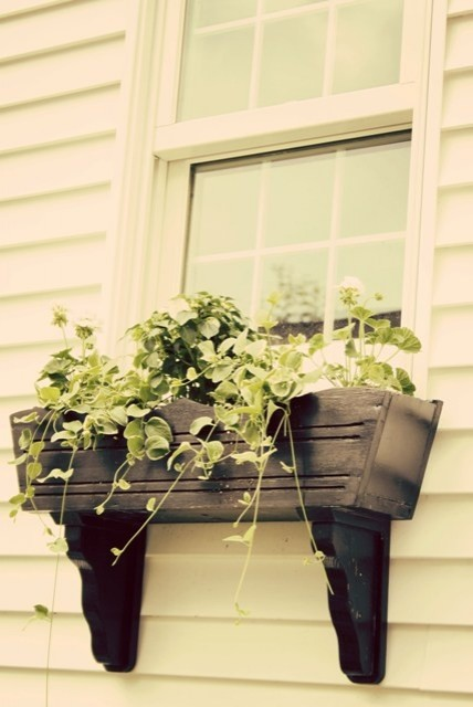 Handmade Window Flower Box (via houzz)