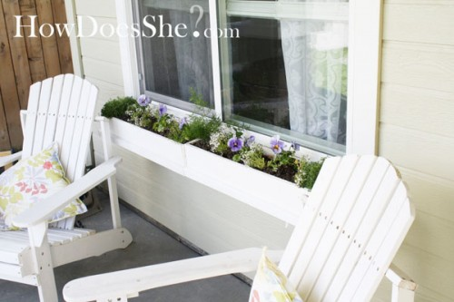 DIY $3.12 Window Box