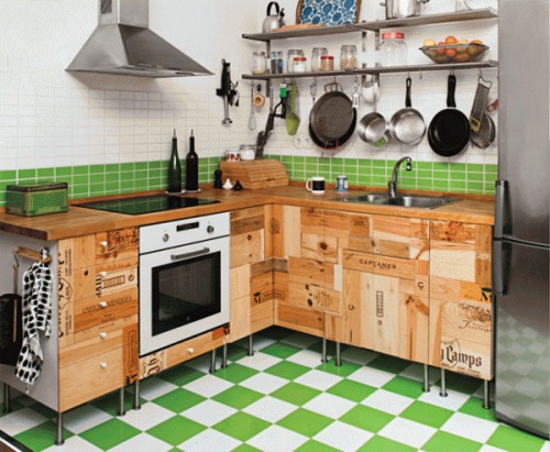 How To Make Kitchen Cabinets From Wine Crates