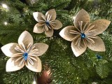 Vintage dictionary tree flowers
