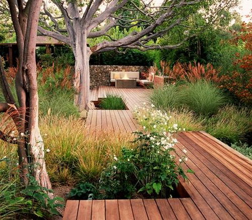 30 Ideas To Use Wood Decking On Patios And Terraces