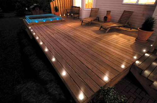 Wood Decking On A Patio - 30 Ideas To Use Wood Decking On Patios And Terraces - Shelterness
