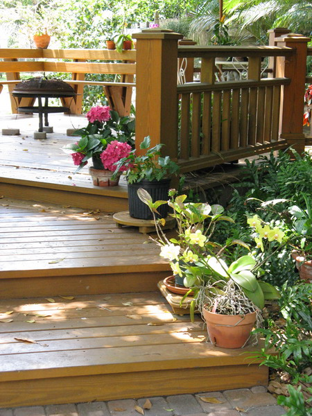 30 Ideas To Use Wood Decking On Patios And Terraces ... on Wood Patio Ideas id=63519