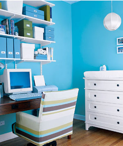 Workspace In Bedroom