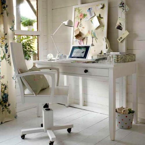 Workspace In Bedroom
