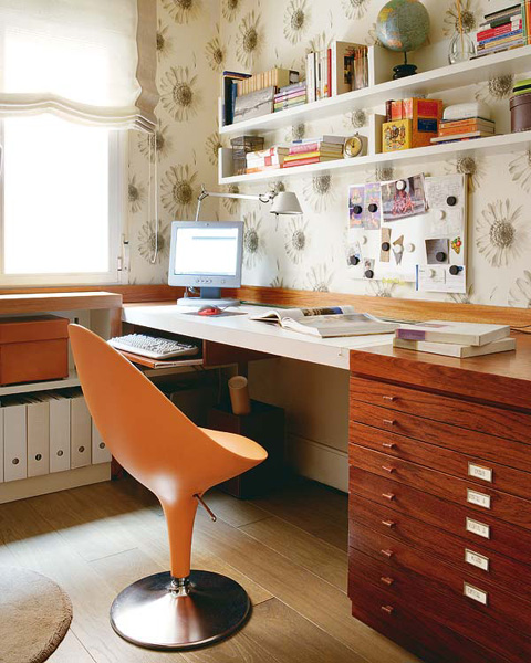20 ideas to organize workspace in bedroom shelterness - Desk in bedroom feng shui ...