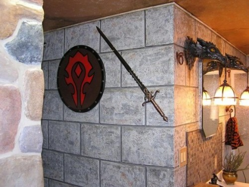 World Of Warcraft Inspired Bathroom