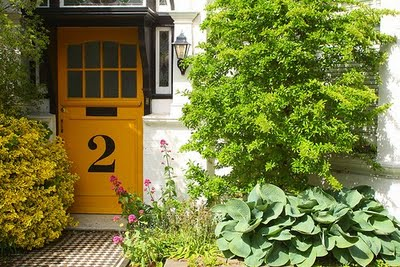 yellow front door designs 12 Garden Designers Roundtable: A Fashionable Address
