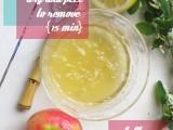 lemon and apple peel mask