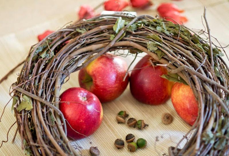 Yummy Looking Diy Dry Apple Wreath