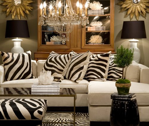 20 Zebra Interior Decorating Ideas & 20 Zebra Interior Decorating Ideas - Shelterness