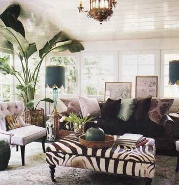 Spectacular Zebra Interior Decorating