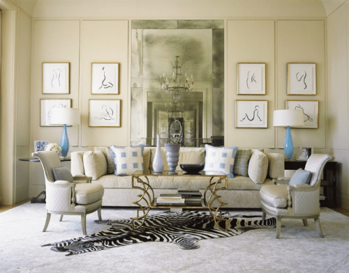 Cool Zebra Interior Decorating