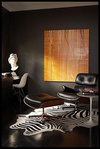 Fancy Zebra Interior Decorating